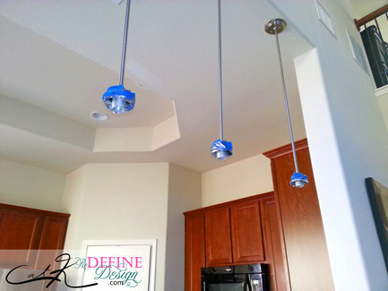 DIY Pendant Light update